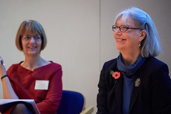 Prof. Wendy Bennett and Baroness Coussins